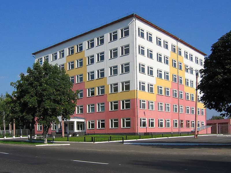 Здание филиала Брянского университета в Новозыбкове