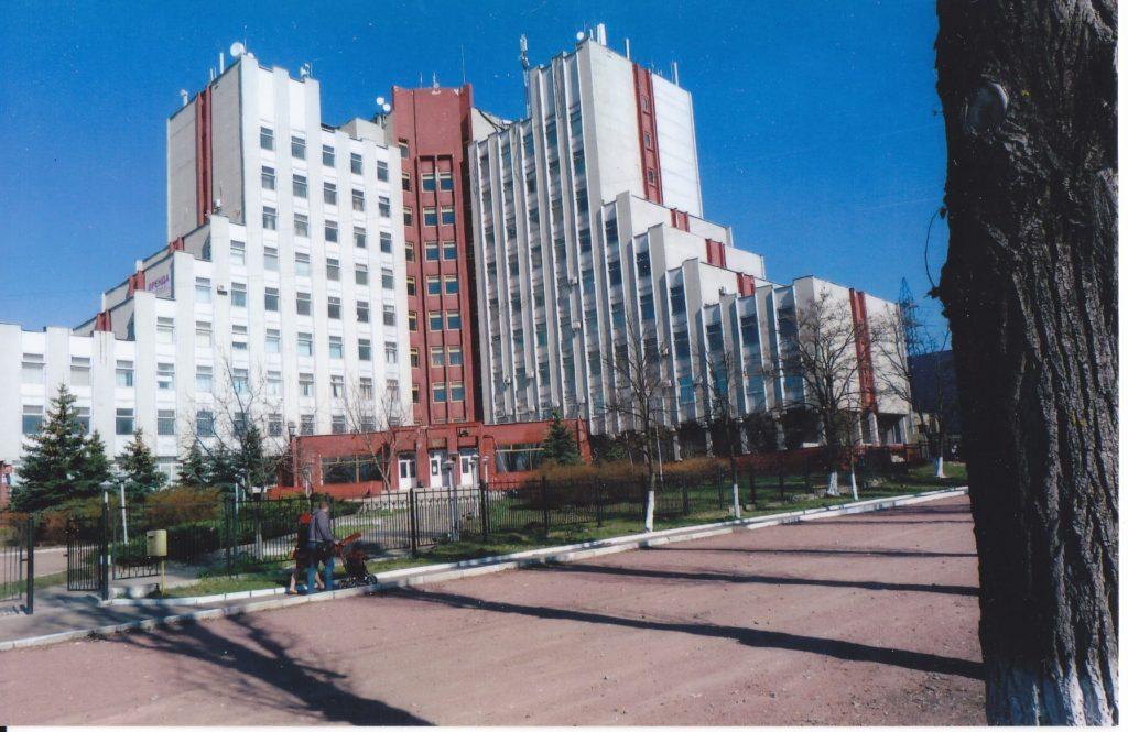 Производственный корпус института «Электронпроект»