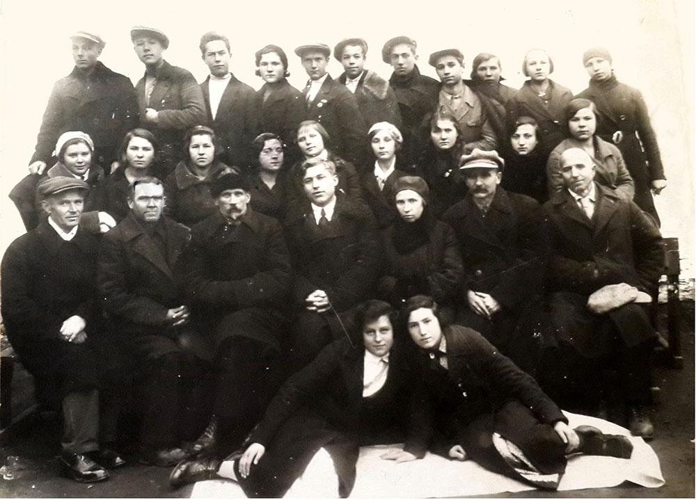 Класс 10-а, осень 1936 год