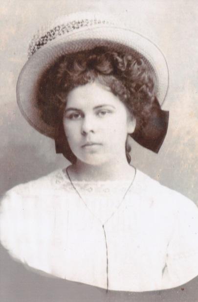 Полевая А.Г. – студентка. 1908-й год