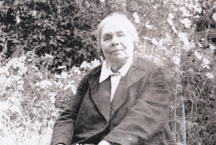 Полевая А.Г. 1952-й год