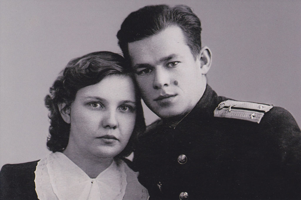 Вера Кравченко с мужем Валерием