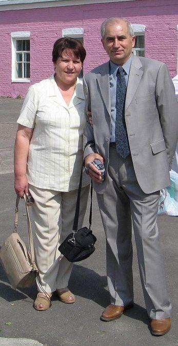 Виктория Радунцева (Солопова) и Василий Протченко