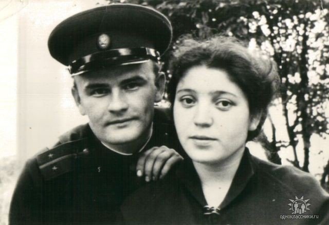 Владимир Штыршунов и Луиза Гамолина