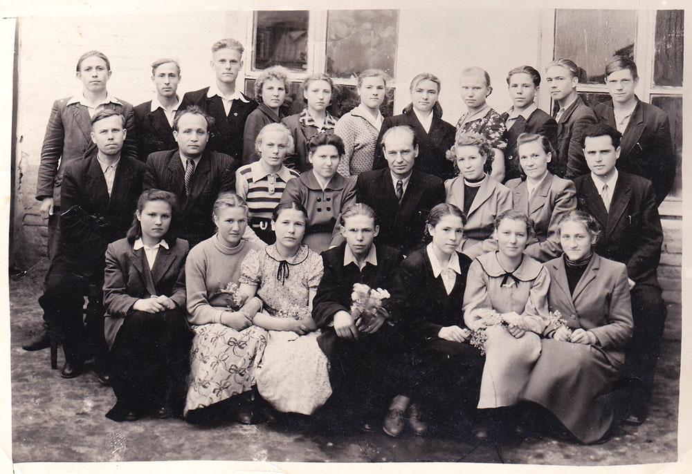 Класс 10-Б, 1959 г.