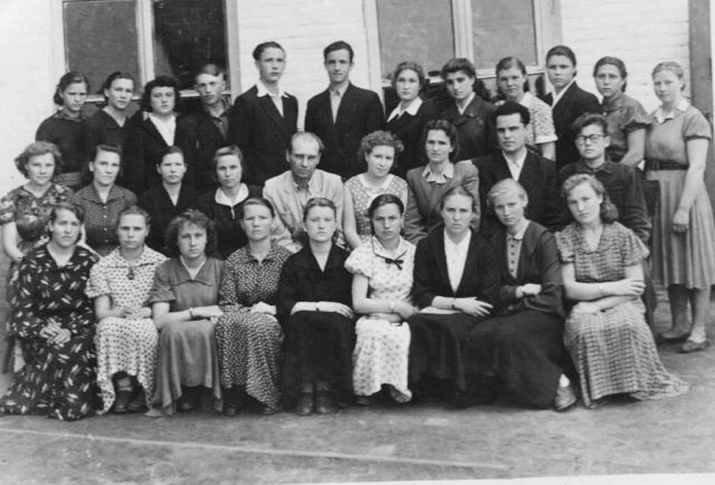 Класс 10-В, 1959 г.