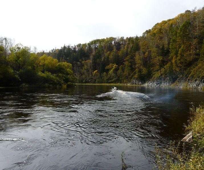 Река Архара, приток Амура