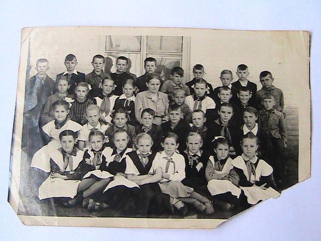 4-й класс1959-го года, фамилии не известны
