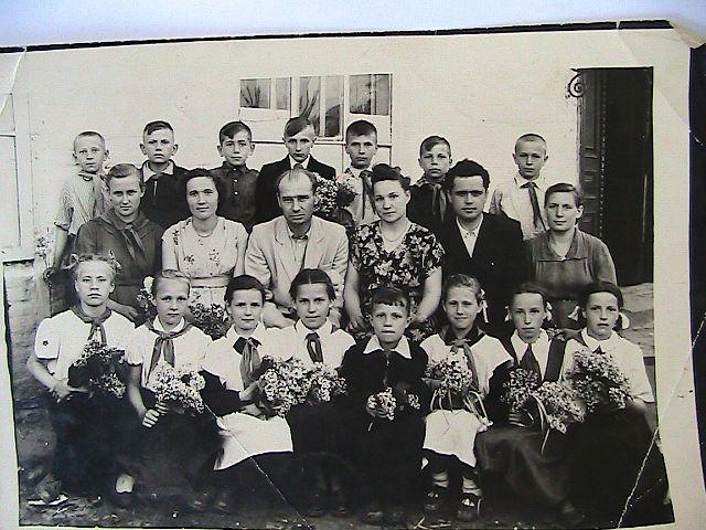 5-А 1959-го года…. Фамилии учеников не известны