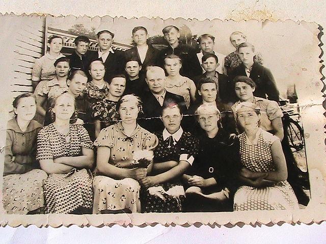 8-й класс 1959 –го года (в 1961-м будет 10-м)